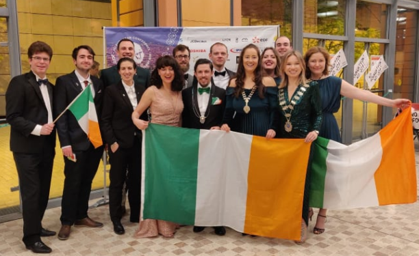 From 'au pair' to the ACA and JCI Dublin President
