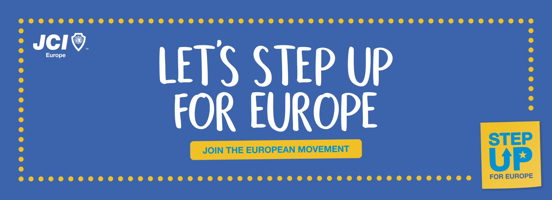 Step Up For Europe - Join The European Movement